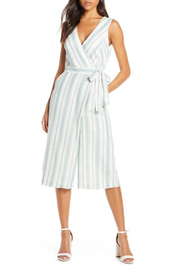 Adelyn Rae Behati Stripe Jumpsuit