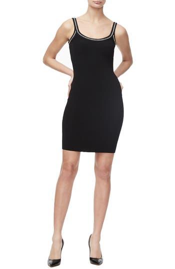 Good American Chain Detail Knit Tank Dress (Regular & Plus Size)