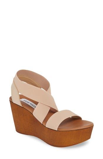 Steve Madden Barbara Platform Wedge Sandal (Women)