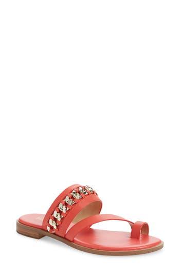 MICHAEL Michael Kors Bergen Curb Chain Slide Sandal (Women)