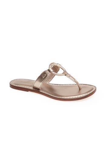 Bernardo Matrix Sandal- Metallic