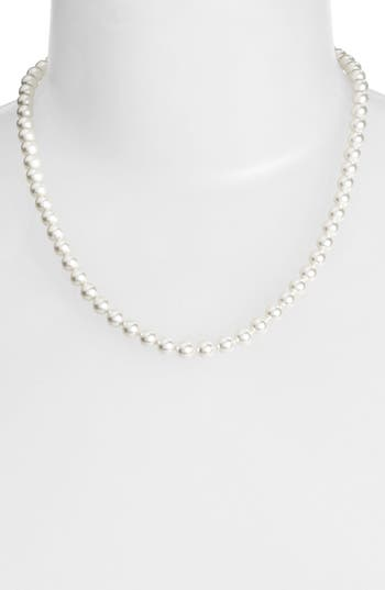 Nadri Imitation Pearl Collar Necklace