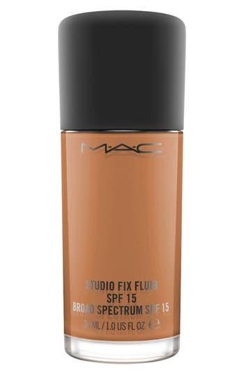 MAC MAC Studio Fix Fluid Foundation Spf 15 - Nw50 Rich Coffee Neutral