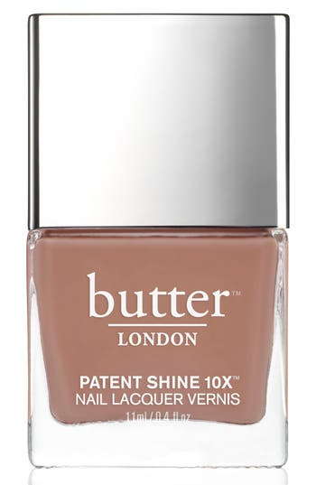 Butter London 'Patent Shine 10X' Nail Lacquer - Tea Time