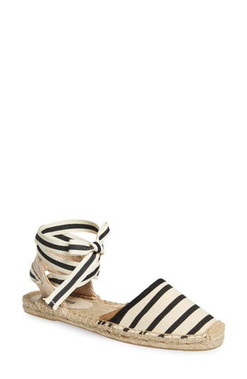 Women's Soludos Lace-Up Espadrille Sandal