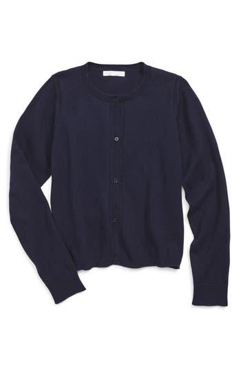 Girls Burberry Rheta Cardigan Size 8Y  Blue