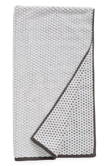 Nordstrom At Home Cobble Bath Towel, Size One Size - Grey