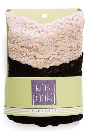 Women's Hanky Panky Low Rise Thong