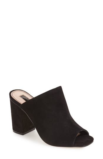 Women's Topshop 'Rule' Block Heel Mule