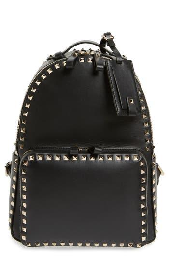 Valentino 'Medium Rockstud' Leather Backpack -