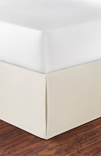 Nautica Cotton Bed Skirt, Size King - Ivory