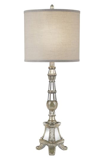 Jalexander Mirrored Metallic Table Lamp