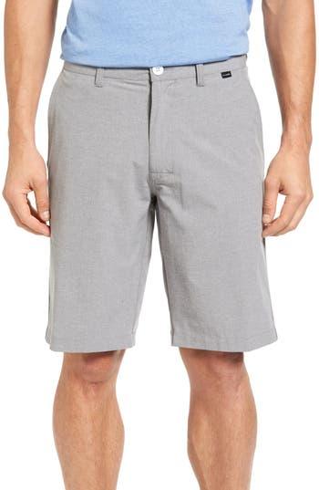 Travis Mathew Beck Stretch Performance Shorts, Grey