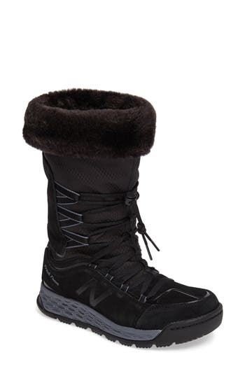 Women's New Balance Q416 1000 Faux Fur Waterproof Platform Boot at NORDSTROM.com