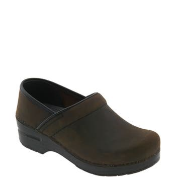 Women's Dansko 'Professional - Narrow' Oiled Leather Clog at NORDSTROM.com