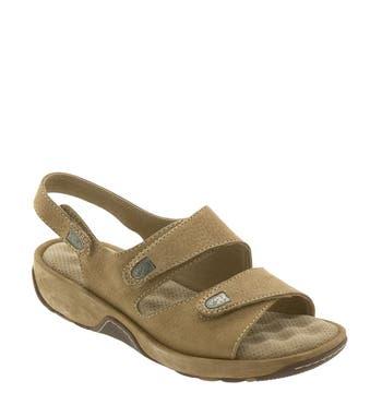 Women's Softwalk 'Bolivia' Sandal, Size 6.5 N - Beige