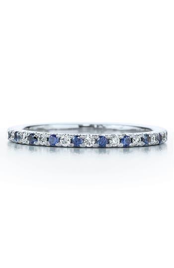 Women's Kwiat Diamond & Sapphire Stackable Ring