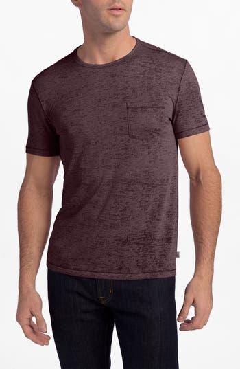 John Varvatos Star Usa Burnout Trim Fit T-Shirt, Red