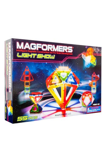 Boys Magformers Light Show Construction Set