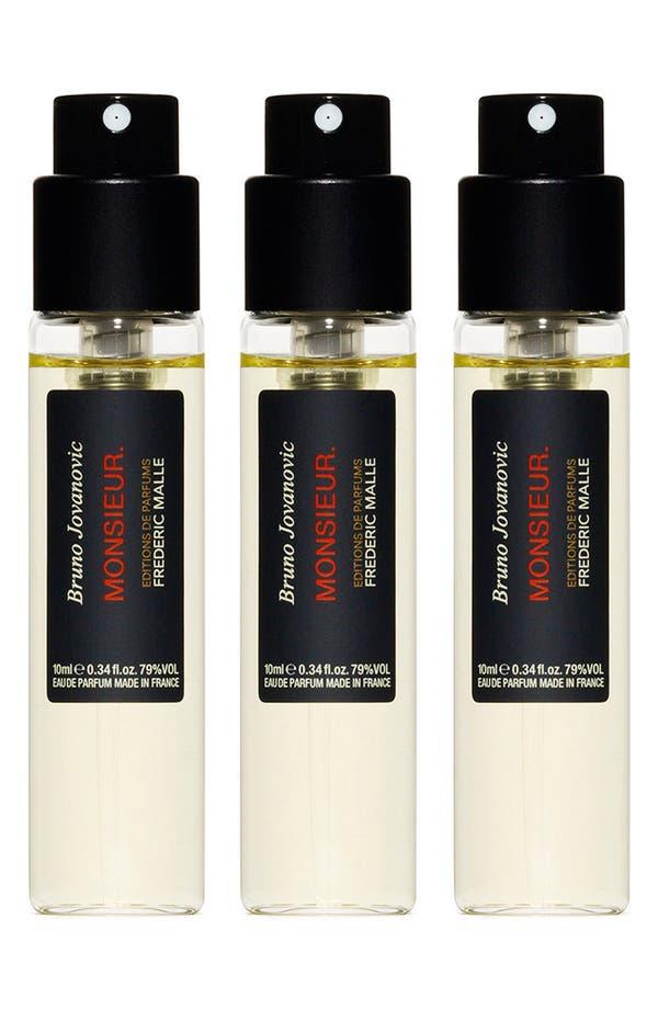 Main Image - Editions de Parfums Frédéric Malle Monsieur Fragrance Travel Spray Trio