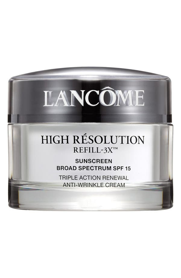 Alternate Image 1 Selected - Lancôme High Résolution Refill-3X Anti-Wrinkle Moisturizer Cream