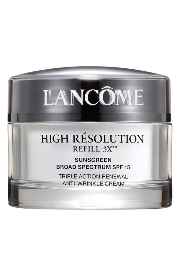 High Résolution Refill-3X Anti-Wrinkle Moisturizer Cream,                         Main,                         color, No Color