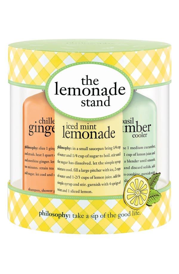 Alternate Image 2  - philosophy 'the lemonade stand' kit (Limited Edition)