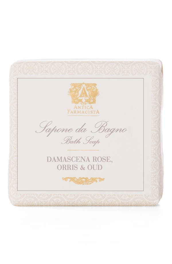 'Damascena Rose, Orris & Oud' Bar Soap,                             Main thumbnail 1, color,                             No Color
