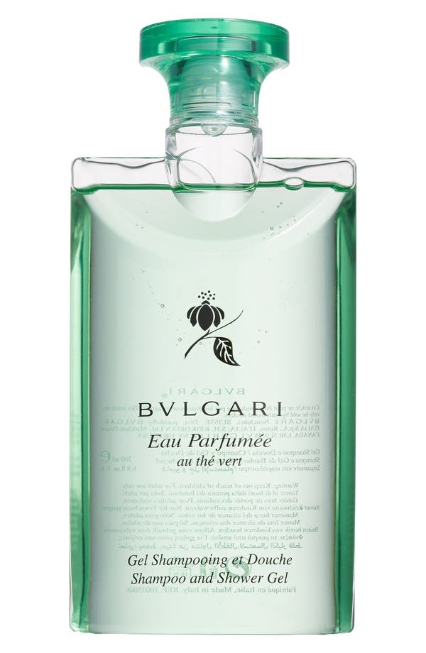 Main Image - BVLGARI 'Eau Parfumée au thé vert' Shampoo and Shower Gel