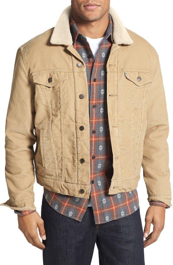 Cord jacket levis damen