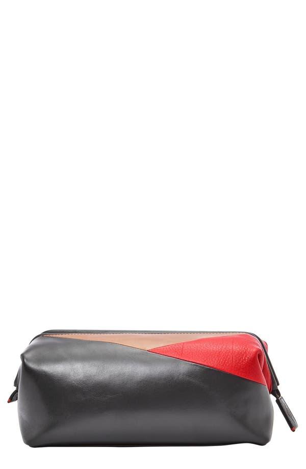 FOSSIL Framed Colorblock Leather Shave Kit