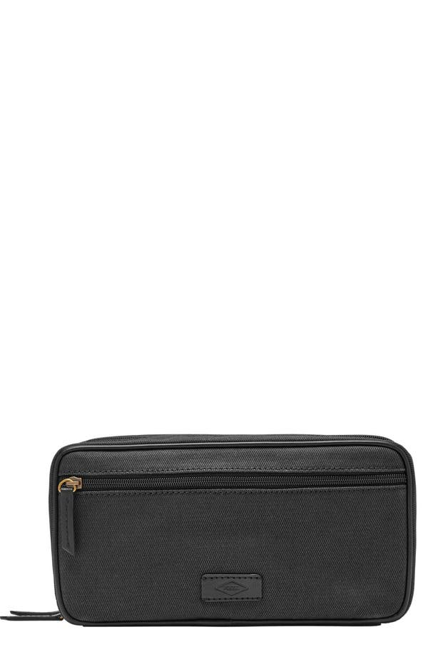 Main Image - Fossil Canvas Travel Kit