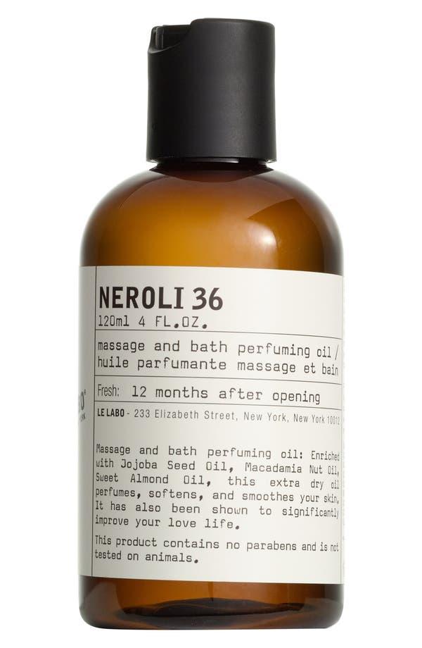 'NEROLI 36' BODY OIL