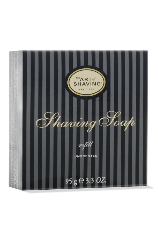 Alternate Image 1 Selected - The Art of Shaving® Unscented Shaving Soap Refill