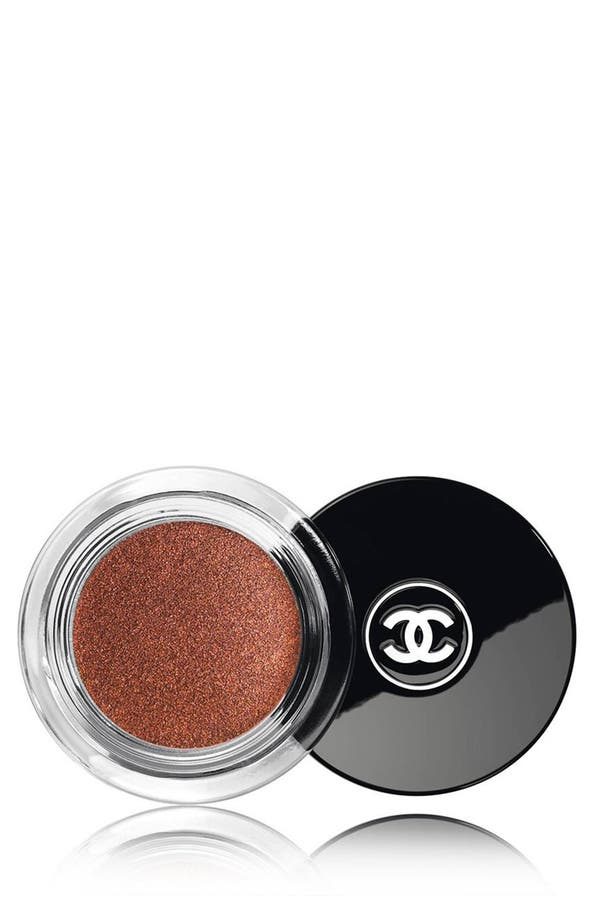 ILLUSION D'OMBRE<br />Long-Wear Luminous Eyeshadow,                         Main,                         color, 128 Rouge Brule