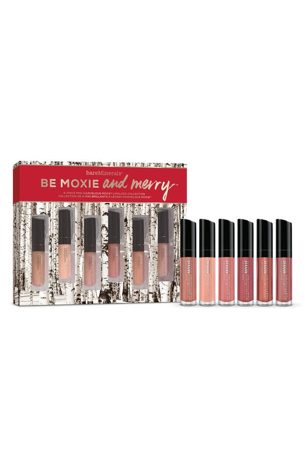Alternate Image 2  - bareMinerals® 'Marvelous Moxie™ - Be Moxie and Merry™' Mini Lipgloss Collection (Limited Edition) ($54 Value)