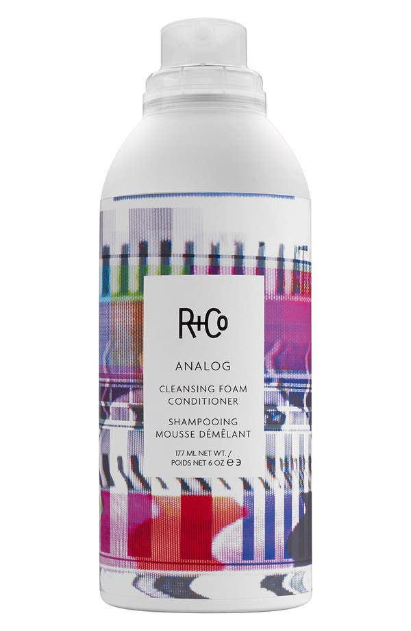 SPACE.NK.apothecary R+Co Analog Cleansing Foam Conditioner,                             Main thumbnail 1, color,                             No Color