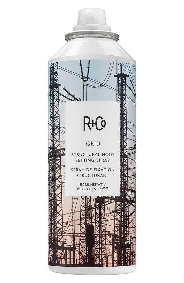 SPACE.NK.apothecary R+Co Grid Structural Hold Setting Spray,                             Main thumbnail 1, color,                             No Color