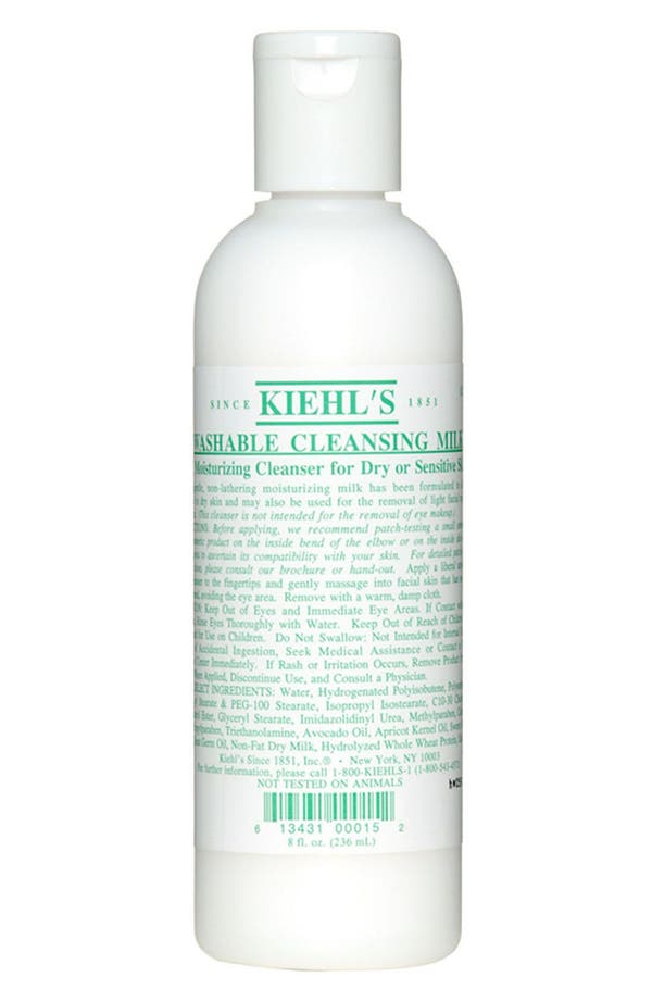 Alternate Image 1 Selected - Kiehl's Since 1851 Washable Cleansing Milk