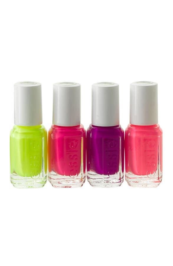essie® \'Neons\' Mini Nail Polish 4-Pack   Nordstrom