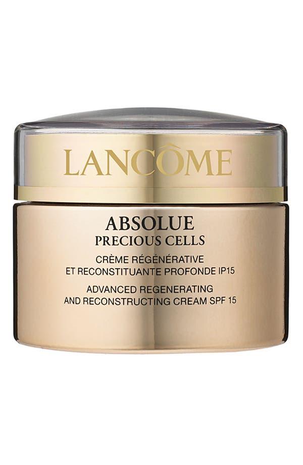 Main Image - Lancôme 'Absolue Precious Cells' Advanced Regenerating & Reconstructing Cream SPF 15