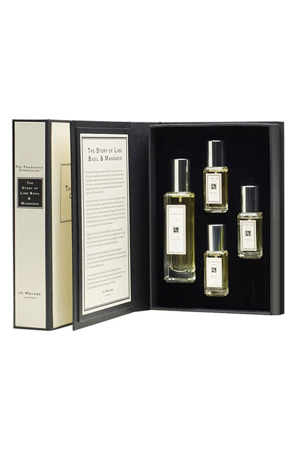 Alternate Image 1 Selected - Jo Malone™ 'The Lime Basil & Mandarin Fragrance Chronicle™' Set