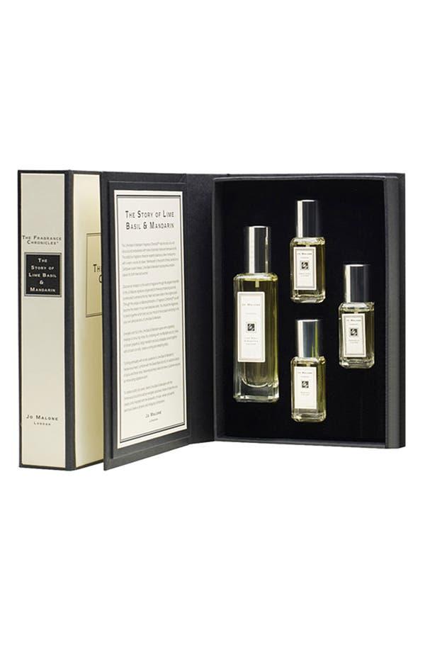 Main Image - Jo Malone™ 'The Lime Basil & Mandarin Fragrance Chronicle™' Set