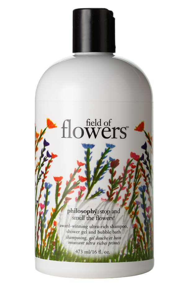 'field of flowers' shampoo, shower gel and bubble bath,                             Main thumbnail 1, color,                             No Color