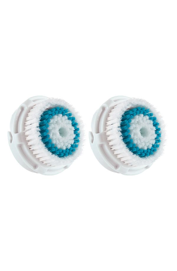 Main Image - CLARISONIC Set of 2 Deep Pore Cleansing Replacement Brush Heads ($54 Value)