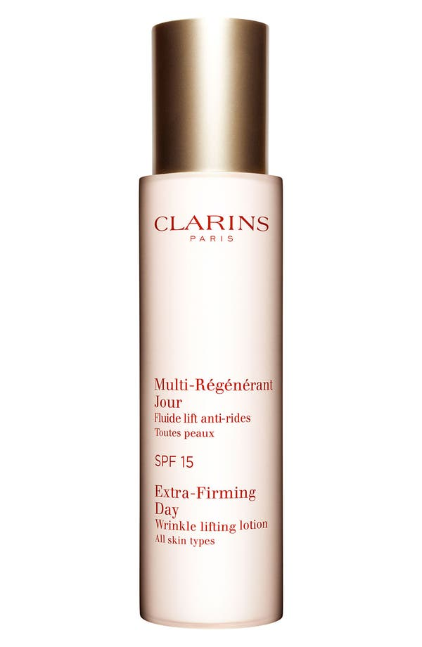 Main Image - Clarins Extra-Firming Day Wrinkle Lifting Lotion SPF 15
