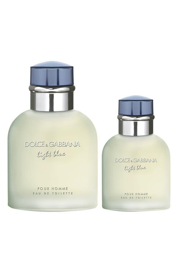Alternate Image 1 Selected - Dolce&Gabbana Beauty 'Light Blue Pour Homme' Eau de Toilette Duo ($117 Value)