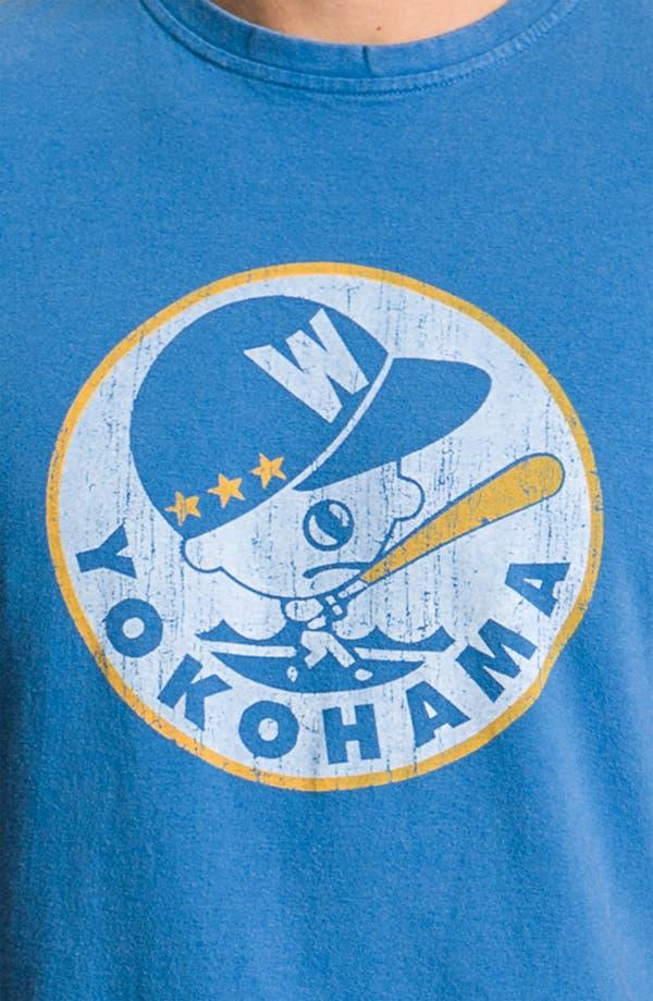 Alternate Image 3  - Red Jacket 'Yokohama Taiyo Whales' Regular Fit Crewneck T-Shirt