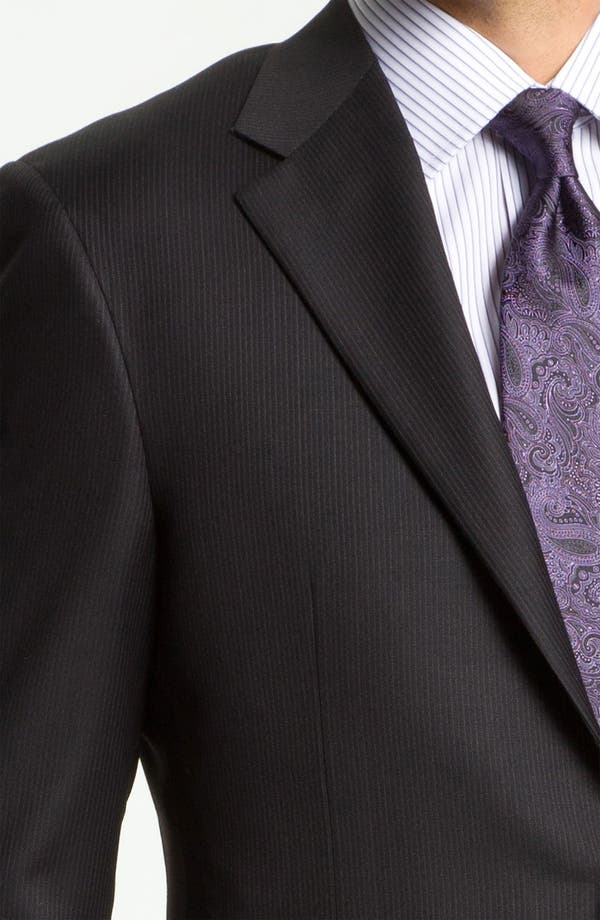 Alternate Image 6  - Hickey Freeman Stripe Suit