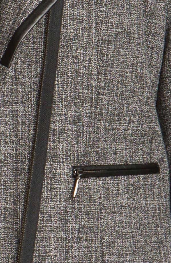 Alternate Image 3  - Sejour Faux Leather Trim Jacket (Plus)